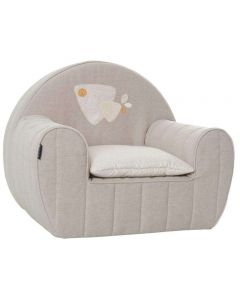Candide Armchair with removable cover + pillow Lenny