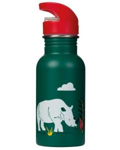 Frugi Steel Bottle Rhino