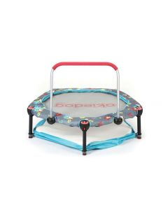 Okiedog Trampoline 90cm With Playpen Superheroes