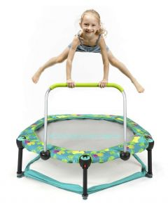 Okiedog Trampoline 90cm With Playpen Frog