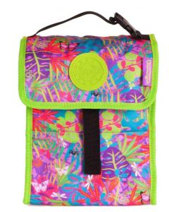 Okiedog Wildpack Jungle Fever Foldable Lunch Bag Orchid