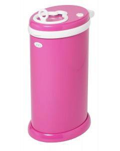 Ubbi Diaper Pail Hot Pink