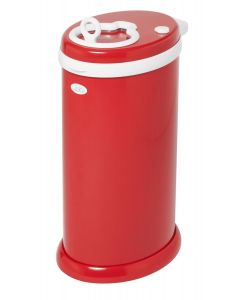 Ubbi Diaper Pail Red