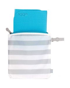 Ubbi On The Go Changing Mat and Bag Set, Robins Egg Blue