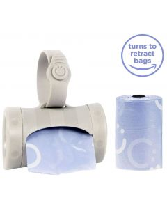 Ubbi Retractable On The Go Bag Dispenser, Lavender Scented