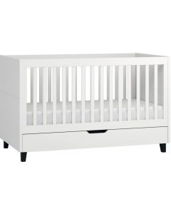 Vox Cot Bed 70X140 + Drawer Simple White/White