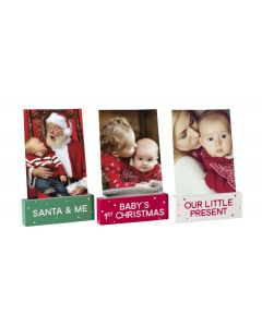 Pearhead Holiday Photo Stands Baby
