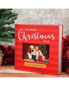 Pearhead Our Family Christmas Book